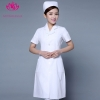 white short sleevepedal collar long sleeve medical care uniform nurse coat drugstore coverall