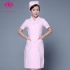 pink short sleevepedal collar long sleeve medical care uniform nurse coat drugstore coverall