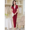 wine pant suitshigh quality office secretary uniform work skirt suits