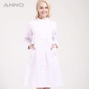 WhiteANNO brand long sleeve female medical coat nurse uniforms