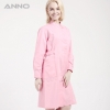 PinkANNO brand long sleeve female medical coat nurse uniforms