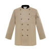 beigeExclusive first level restaurant hotel kitchen chef's coat uniform discount