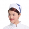 white ( two slash )2015 fashion high quality nurse hat cap,multi designs