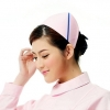 pink ( one slash)2015 fashion high quality nurse hat cap,multi designs