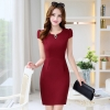 winefashion Korea formal office lay work dress