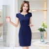navyfashion Korea formal office lay work dress