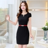 blackfashion Korea formal office lay work dress