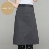 Dark Greyclassic half length high quality chef aprons