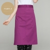 purpleclassic half length high quality chef aprons
