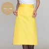 yellowclassic half length high quality chef aprons
