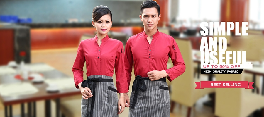Waiter waitress uniform